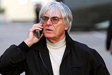 Formel 1 - Ecclestone: Es wird gefahren!