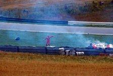 Formel 1 - Spielberg 1987 - Der Rehunfall