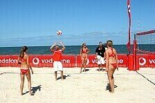 DTM - Beachvolleyball Turnier mit DTM-Stars