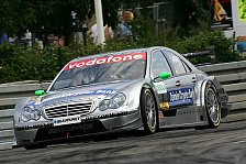 DTM - Super-Pole: Paffett & H�kkinen in Reihe 1