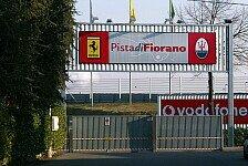Formel 1 - Videobeweis: Ferrari: Geheimer Motorentest in Fiorano?
