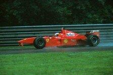 Formel 1 - Auffahrunfall im Regen: Video - Schumacher vs. Coulthard in Spa 1998
