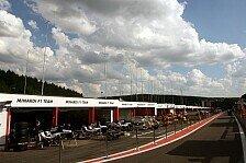Formel 1 - Was geschieht heute in Spa?