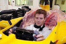 Formel 1 - Bilder: Anthony Davidson: Jordan Seat-Fitting