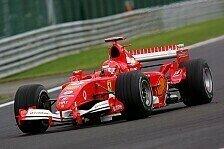 Formel 1 - Ferrari: Die Regent�nze haben gewirkt!
