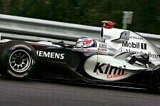 Formel 1 - 3. Freies Training: R�ikk�nen fliegt durch die Ardennen