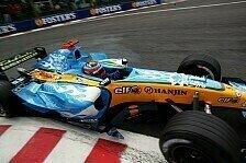 Formel 1 - Fernando und die Badewanne