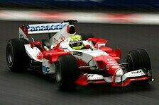 Formel 1 - Toyota werkelte weiter am TF105B