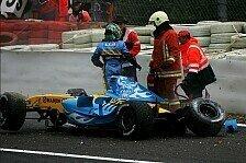 Formel 1 - Renault: Alonso bedankt sich f�r die silberne Sch�tzenhilfe