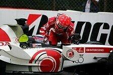 Formel 1 - Strafen f�r Sato und Pizzonia