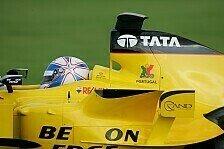 Formel 1 - Davidson mit Jordan-Test zufrieden