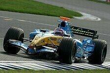 Formel 1 - Testing Time, Tag 2: Alonso übernimmt das Kommando