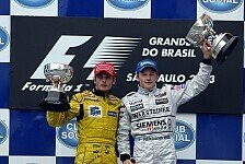 2003 Brazilian GP podium