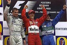 Formel 1 - Bilderserie: Belgien GP - Die Podien seit 1985 in Spa