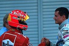 Formel 1 - Das denkt er wirklich �ber Schumacher: Coulthard: Schumacher bekam nie n�tige Anerkennung