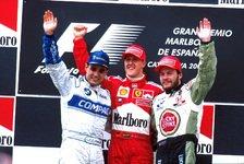 Formel 1 - Die Podien seit 1991 in Barcelona