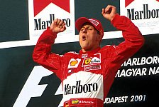 Formel 1 - 20 Jahre voller besonderer Momente: Erinnerungen an Michael Schumacher