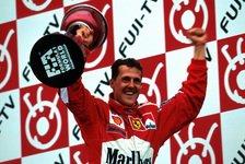Heute vor 20 Jahren: Michael Schumachers erster Ferrari-Titel