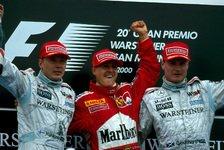 Formel 1 heute vor 21 Jahren: Schumi-Overcut zockt McLaren ab