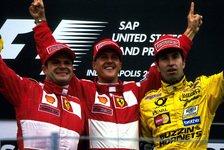 Formel 1 - Bilderserie: Genesungsw�nsche f�r Michael Schumacher