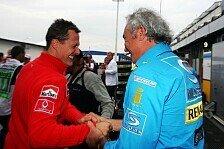 Formel 1 - Schwierigste Meisterschaft seiner Karriere: Briatore: Schumacher nicht mit zu viel Risiko