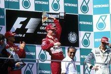 Formel 1, heute vor 21 Jahren: Schumi, die beste Nummer zwei