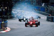 Formel 1 heute vor 21 Jahren: Schumachers Blitzstart in Monaco
