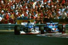 Formel 1 - Auf den letzten Metern abgefangen: Video - Ungarn GP 1997: Das Hill-Drama