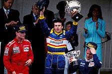 Formel 1 heute vor 24 Jahren: Nur 3 Autos beenden Chaos-GP