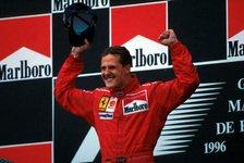 Formel-1-Quiz heute vor: Fragen zu Schumis erstem Ferrari-Sieg