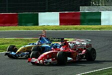 Formel 1 - Duell der Weltmeister: Video - Japan 2005: Schumacher vs. Alonso