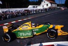 Formel 1 - Triumph in der Eifel: Erinnerungen: Michael Schumachers erster F1-Sieg