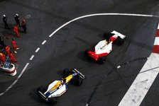 Formel 1 - Kampf der Giganten: Video: Senna vs. Mansell Monaco GP 1992