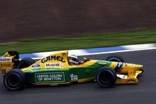 Formel 1 heute vor 29 Jahren: Junger Schumi zeigt wie's geht