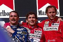 Formel 1 - Die Podien seit 1986 in Budapest