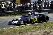 Formel 1 - Bilder: Der Tyrrell P34