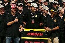 Formel 1 - Bilder: China GP - Jordan-Abschied