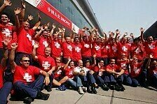 Formel 1 - Bilder: China GP - Sauber-Abschied