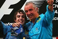 Formel 1 - Gro�artiger Deal: Briatore froh �ber Alonso-Wechsel