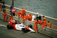 Formel 1 heute vor 33 Jahren: Sennas legendärer Monaco-Crash