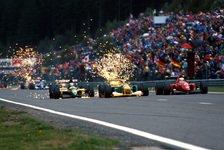 Formel 1 - Belgien GP - Geschichte