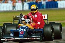 Formel 1 - Als dreimaliger Sieger bestens geeignet: Mansell in der Heimat Fahrersteward