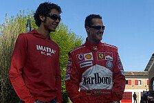 Formel 1 - In toller Form und voller Energie: Rossi will mit 43 wie Schumacher sein