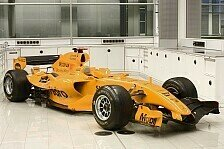 Formel 1 - Pr�sentation Ende Januar: McLaren 2014 wieder in orange?