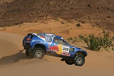 WRC - Matthias Kahle testete VW Race Touareg 2