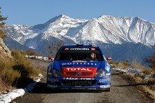 WRC - Wetterpropheten im Vorteil: Vorschau Rallye Monte Carlo