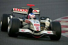 Formel 1 - Honda RA106 & Roll-Out (Barcelona, 25.01.2006)