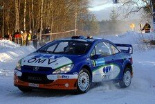 WRC - OMV Peugeot Norway World Rally Team auf Punktekurs