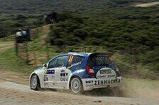 WRC - Aaron Burkart 5. bei Triestingtal Rallye