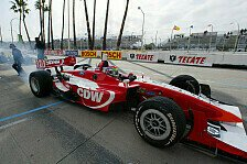 Champ Cars - Wilson mit provisorischer Pole: 1. Qualifying, Long Beach